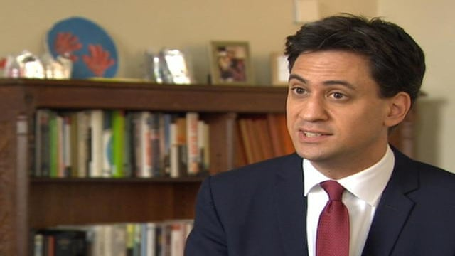 Miliband: David Cameron has broken his promise to the public - video...