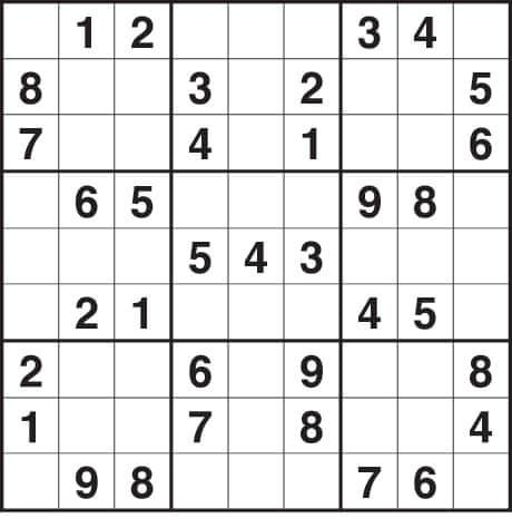 Easy 3x3 sudoku 19 quotes