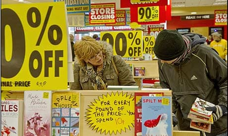 Borders Books Store Closing Sale All 45 Borders Book Stores