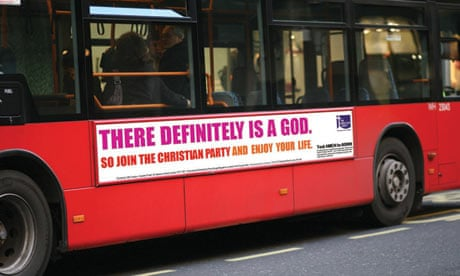 Christian bus ads