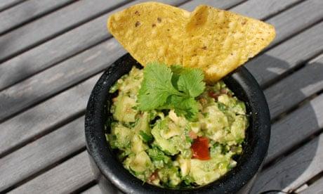 Perfect guacamole. Photograph: Felicity Cloake