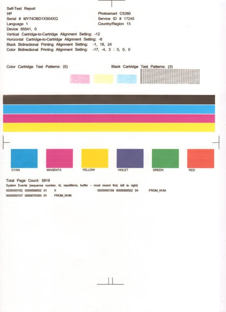 pin inkjet color test page laser toner and more on pinterest - Color Test Page Laser Printer