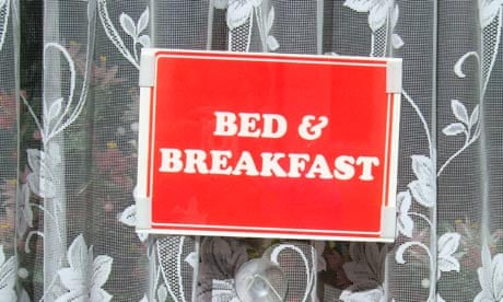 Bed And Breakfast Sign Bed And Breakfast Sign in a