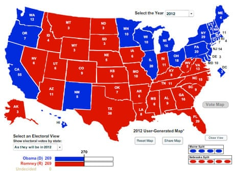 Romney39s Possible Routes To Victory In The Battleground