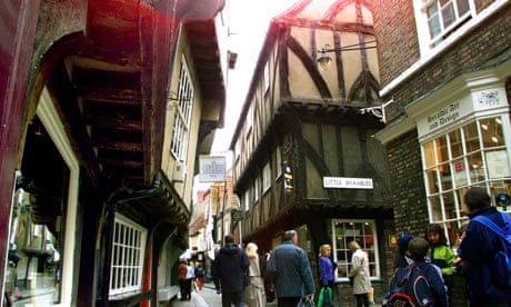 The Shambles, York, one of Britain's most historic streets