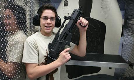 las vegas shooting range machine gun