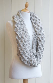Knitting Pattern For Snood Scarf : Knitting pattern: Kilmorey Snood Life and style The ...