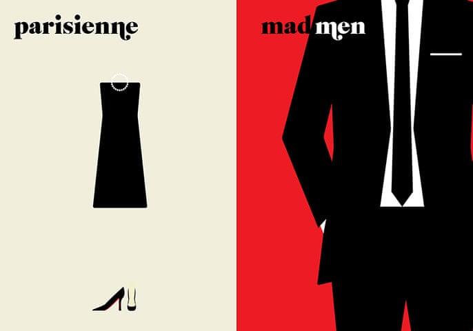 Paris V. New York: parisienne / madmen