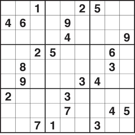 21 number game sudoku 13 box