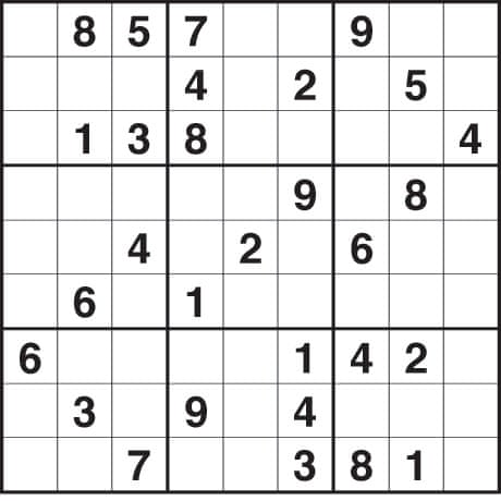 Pics Photos - Printable Sudoku Puzzle Gif Pictures