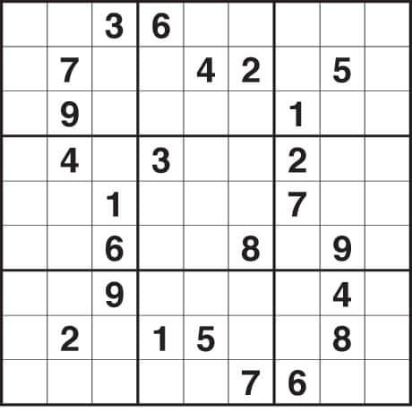 21 number game sudoku 13 box