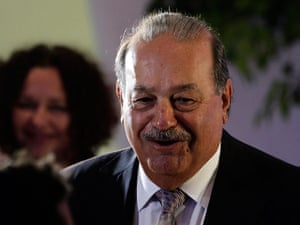 Forbes: Mexican tycoon Carlos Slim