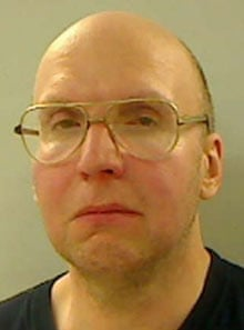 Christopher Knight, 47, known as the North Pond Hermit, after his arrest - Christopher-Knight-47-kno-001
