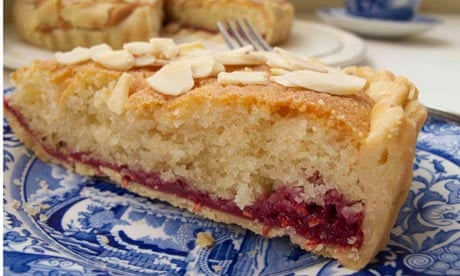 Felicity Cloake's perfect bakewell tart. Photograph: Felicity Cloake ...