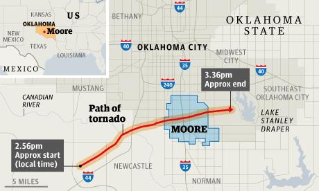 Oklahoma Tornado Multiple People Killed As Milewide