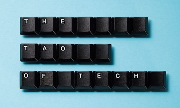 Computer keys spelling 'The Tao of tech'