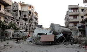 Aleppo street