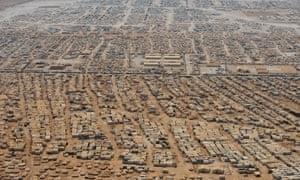Syrian refugee crisis, Zaatari camp