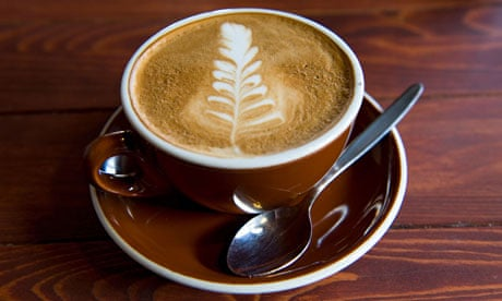 Flat white coffee  008
