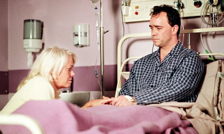 Mark Fowler in Eastenders who was HIV+