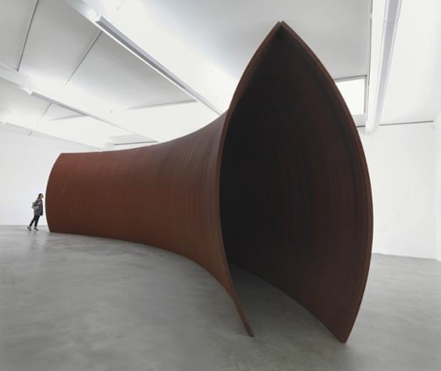 Richard Serra Backdoor Pipeline