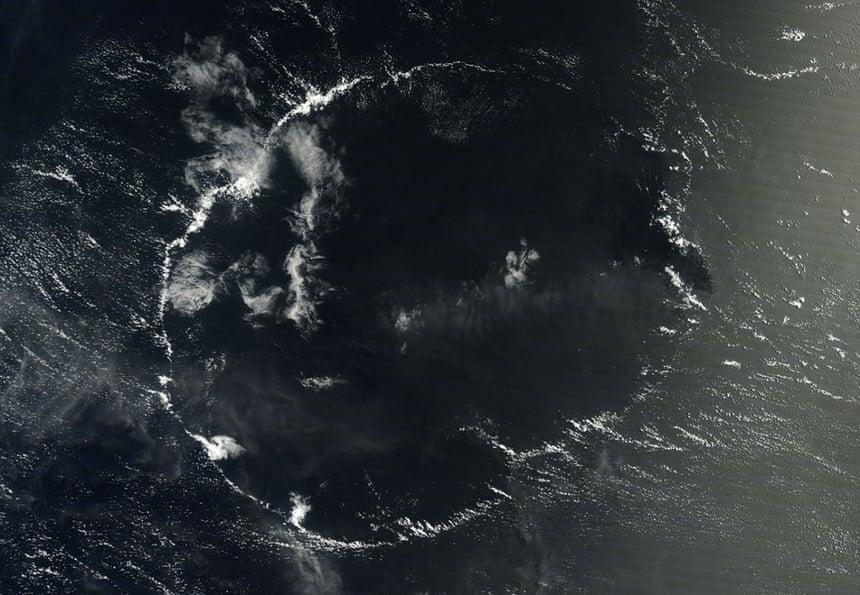 La formación de nubes de celdas abiertas