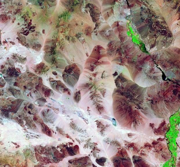 Título del desierto de Mojave