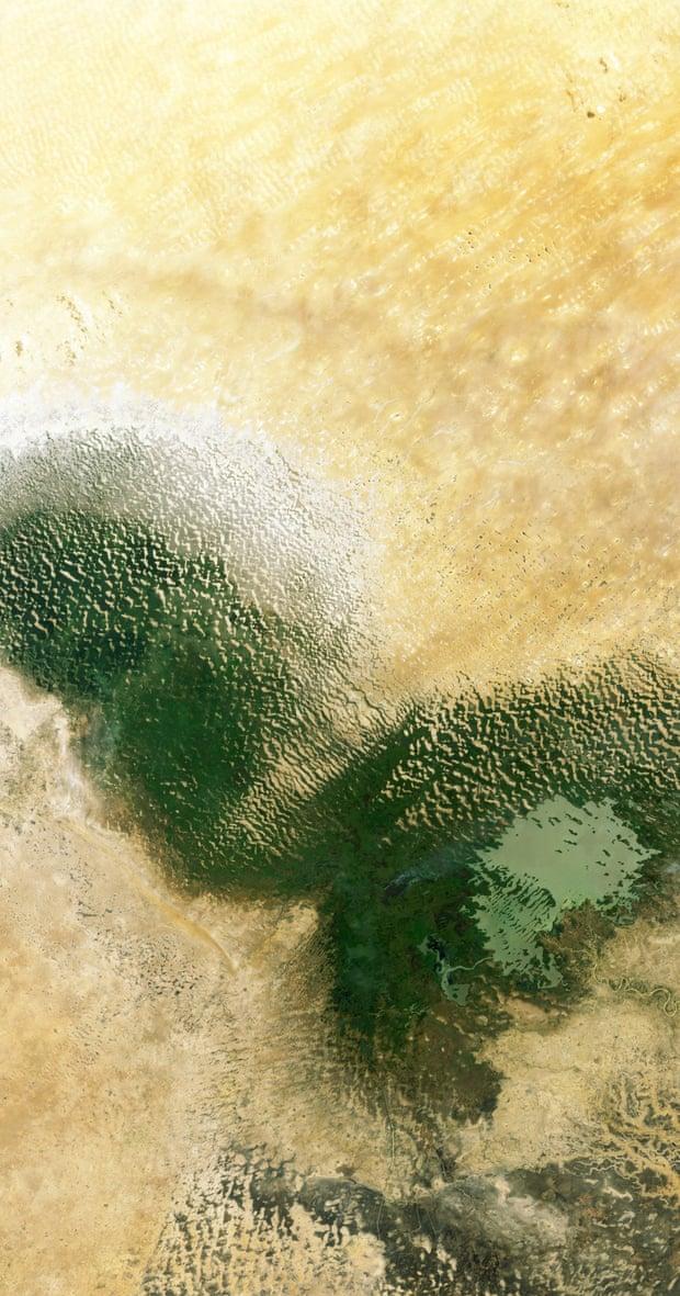 Lago Chad, en la región del Sahel de África Occidental