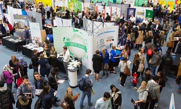 This year's careers fair was the busiest yet at the University of Leeds.