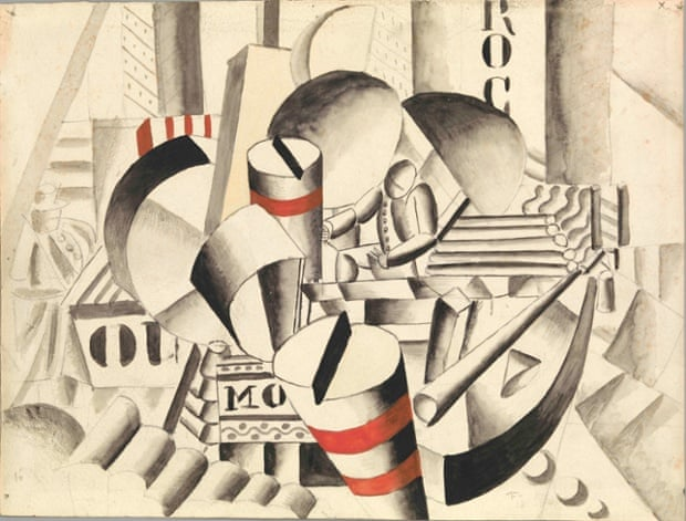 The Tugboat by Fernand Léger