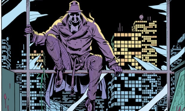 Alan Moore and Dave Gibbons' Watchmen, which was later made into a film.