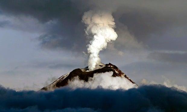 Volcanic Eruptions Caused by a Shortened Day... Tungurahua-volcano-Ecuado-012