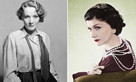Марлен Дитрих и Коко Шанель.