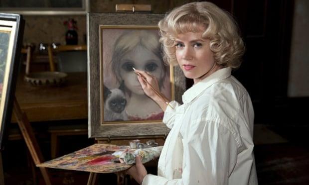 Amy Adam plays Margaret Keane in Tim Burton's film Big Eyes.