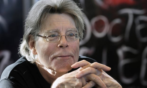 Stephen King. Photograph: Kenzo Tribouillard/Getty Images