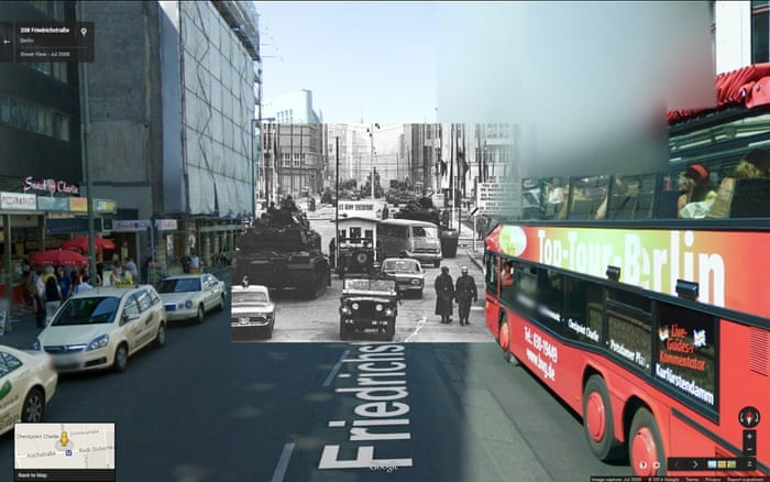 Tanks at Checkpoint Charlie