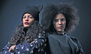 'We were screaming at each other just two hours ago' … Ibeyi, AKA Naomi (left) and Lisa-Kaindé Díaz.