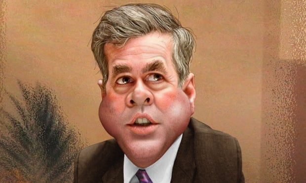This is not the face of a Jeb. I should know. Photo illustration: DonkeyHotey / Flickr via Creative Commons