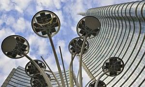 Milan's Piazza Gae Aulenti Modern buildings