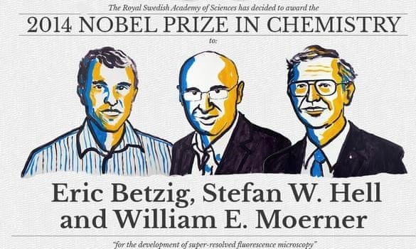 Winners of the 2014 Nobel Prize in Chemistry
