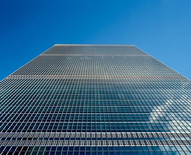ساختمان دبیرخانه سازمان ملل متحد، نیویورک، ایالات متحده آمریکا