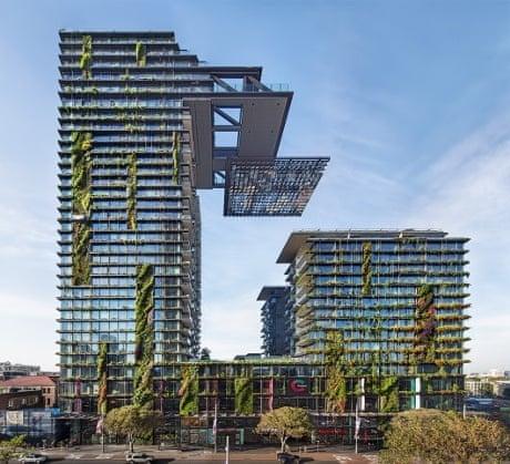 برج های برتر سال 2014 ، پارک مرکزی سیدنی، بزرگترین باغ عمودی جهان
