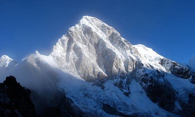 Everest at sunrise, seen from Kala Patthar.