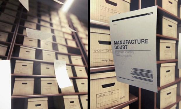 Shot from Merchants of Doubt film.