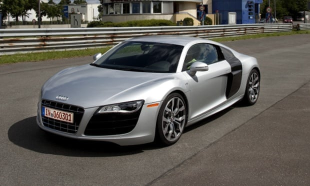 Audi R8: you can't have two of these in return for a Facebook Like.