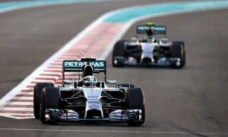 Hamilton wins the Abu Dhabi GP, wins F1 championship for a second time 1