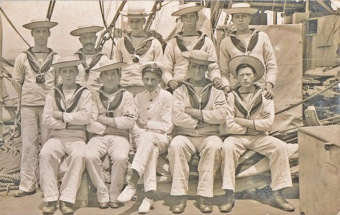 HMS Implacable csoportképe