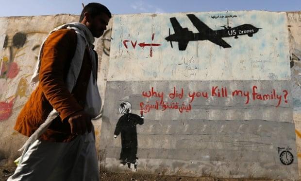 U.S. Drones Targeted 41 People; Killed 1,147