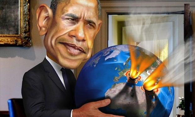 obama middle east illusration