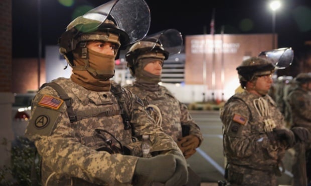national guard ferguson